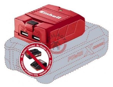 TE-CP 18Li USB SOLO töltő