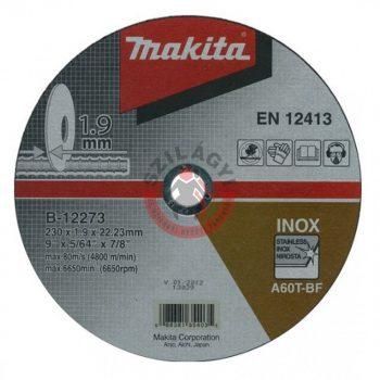 Makita B-12273 230x1,9 vágótárcsa
