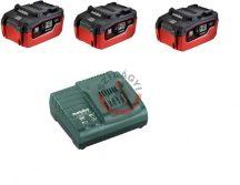 Basic akkumlátor szett 3x3,1Ah ASC 30-36V töltő