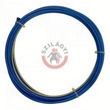 Huzalvezető spirál 4m 0.6-0.9mm kék