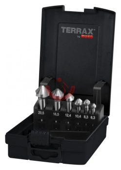 Kúpsüllyesztő DIN335 3,3-8,3-10,4-12,4-16,5-20,5mm