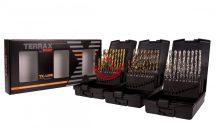 Terrax A131011 Fúrószár klt TiN, CO, HSS-G 1 - 10mm, 19 részes