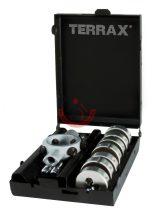 Terrax A245014 Menetmetsző klt M3-M12  8 részes
