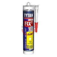 Szerelési ragasztó Fix2 clear színtelen 290ml Tytan