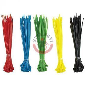 Kábelkötegelő 150x2,5mm 200db/cs többszínű