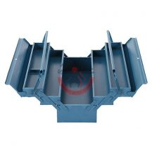 Strend Pro 239434 Szerszámos láda fém 53 cm 5 részes