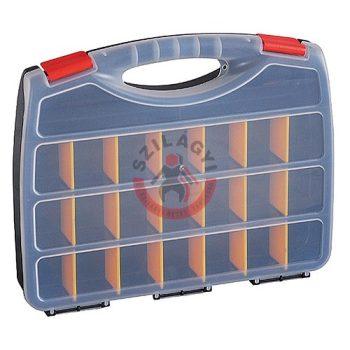 Csavartároló koffer 380x315x60mm max.12,5kg