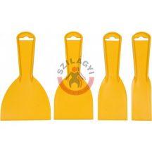 TOYA 05980 Műanyag spatula készlet