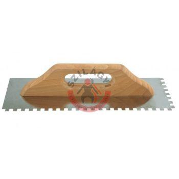 Fogazott glettvas 8x8 380x128mm