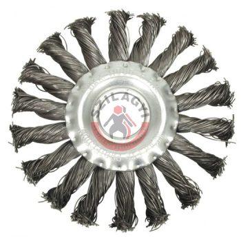 Drótcsiszoló körkefe   150 mm