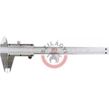 Tolómérő inox 150mm/0.02mm