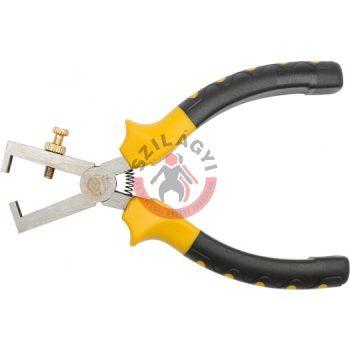 Kábelcsupaszító fogó 160 mm