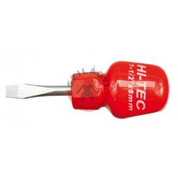 Lapos csavarhúzó HI-TEC 6,0x38mm