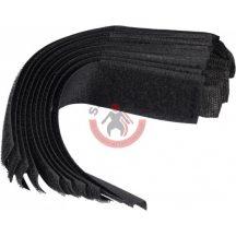 TOYA 73850 Tépőzáras kábelkötegelő 150x25mm 10db/csomag