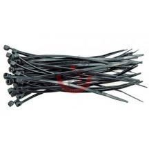 TOYA 73895 Kábelkötegelő 3,6 x 290mm  / 100db / fekete
