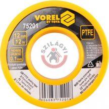 TOYA 75201 Teflon szalag 12mm x 12m (víz)