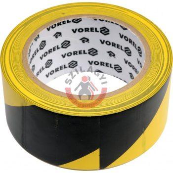 Jelölőszalag öntapadós 48mm x 33m (sárga-fekete)