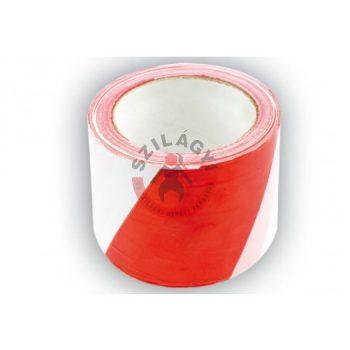 Jelölőszalag 100m (fehér-piros)