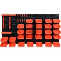 Szerszámtartó tábla tárolódobozokkal 48 részes