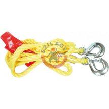 TOYA 82201 Vontató kötél sárga 1450kg terhelhetőség