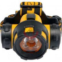 Fejlámpa 1 LED 1W 70 x 55 x 48mm 3 funkciós 3 x AAA