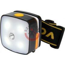 Fejlámpa 3+2 LED 3W Li-Ion 850 mAh 53 x 46 x 29mm USB