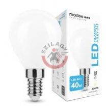 Modee Lighting LED izzó Filament Milky G.Mini G45 4W E14 360   4000