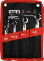 YATO 0143 Fékcsőkulcs készlet 4 részes