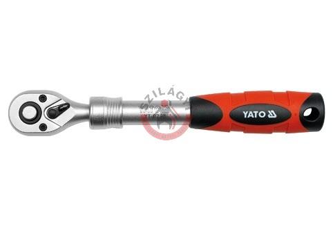 """YATO 0298 Racsnis hajtókar 3/8"""" kihúzható 215-315 mm"""