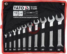 YATO 0380 Villáskulcs készlet 10 részes