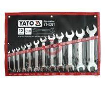 YATO 0381 Villáskulcs készlet 12 részes