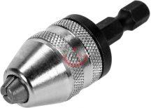 """YATO 04644 Tokmány 1/4"""" hat lap befogással 0,5 - 3mm"""