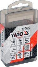 YATO 04712 Bithegy 25mm PZ2