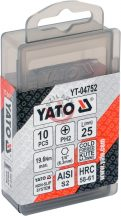 YATO 04752 Bithegy 25mm PH2