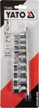 YATO 0520 Torx dugókulcs készlet 9 részes