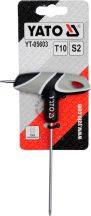 YATO 05603 T-nyelű Torx kulcs T10