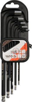 YATO 0561 Imbuszkulcs készlet 1,27-10mm 10 részes