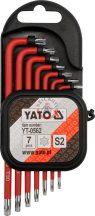 YATO 0562 TORX kulcs készlet 7r