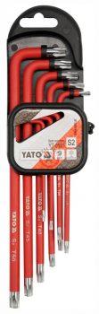 YATO 0563 Torx kulcs készlet 9 részes