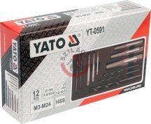 YATO 0591 törtcsavar kiszedő 12r