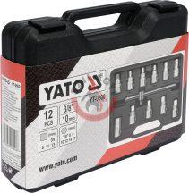 YATO 0600 Olajleeresztő kulcs készlet 12 részes