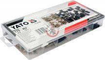 YATO 06780 Lemezanya + Lemezcsavar készlet