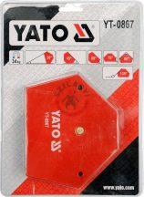 YATO 0867 Hegesztő sablon mágneses