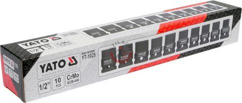 YATO 1025 Levegős dugófej készlet 10 részes