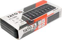 """YATO 1069 Üthető dugókulcs, bit készlet 1/2"""""""