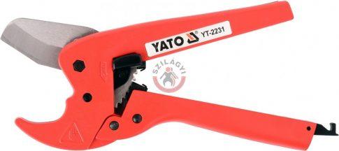 YATO 2231 PVC csővágó 42mm vágás