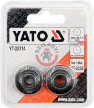 YATO 22314 Tartalék görgő (YATO 2232) 2db/cs.