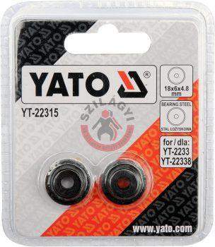 YATO 22315 Csővágó kerék a (YATO - 22338 hoz)