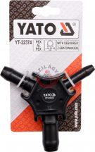 YATO 22374 Csőkalibráló sorjázóval 16-20-26mm