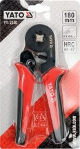 YATO 2240 Érvéghüvelyfogó 0.2-6.0mm